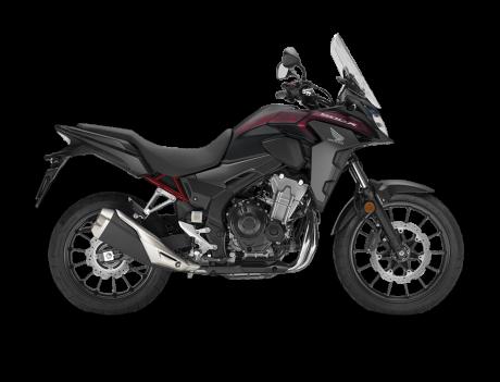Honda CB500X Noir Mat 2021