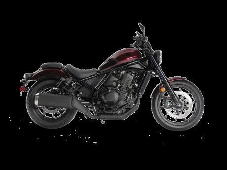 Honda REBEL 1100 Rouge bordeaux métallisé 2021