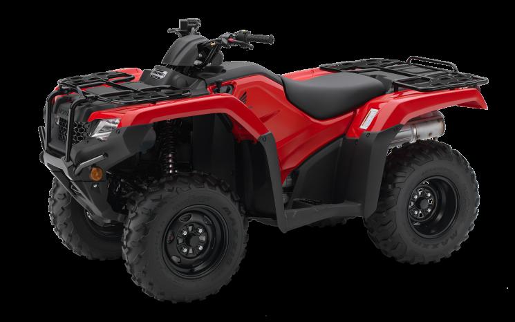 Honda Rancher TRX420 Rouge patriote 2021